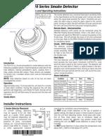 DSC-410 Smoke Detector