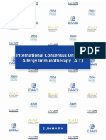 International Consensus of Allergen Immunotherapy EAACI