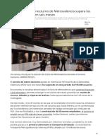 20minutos.es-el Nuevo Servicio Nocturno de Metrovalencia Supera Los 155000 Viajeros en Seis Meses
