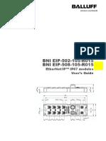 BNI006 Configuration  Balluff