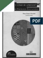Zimmerman M. Las Teorias Psicologicas y El Campo Educativo