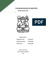 Makalah Aplikasi Nuklir Di Industri Reaksi Nuklir Fusimohammad Yusup10211077muhammad Ilham10211078praba Fitra10211108