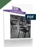 Rcem Learning FRCEM PRIMARY Paper 1