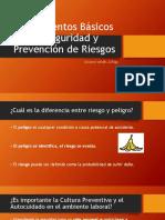 Fundamentos Básicos de Seguridad y Prevención de Riesgos1