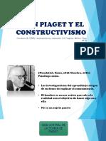 Jean Piaget y El Constructivismo