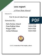 Process Report(1)