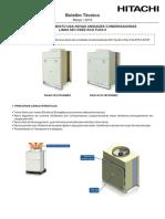 2016 BT SET 147 L Lançamento Das Novas Unidades Condensadoras Linha Set Free Eco Flex II