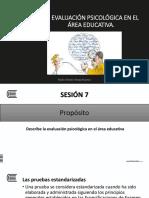 07 La Evaluaciòn Psicologica en El Area Educativa