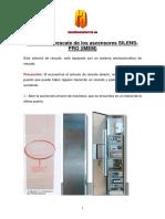 Sistema de Rescate de Los Ascensores SILENS-PRO