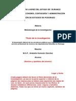Modelo de Protocolo Mayo 2011