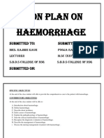 lesson plan on shock and haemorrhage.docx