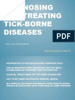 Diagnosing and Treating Tick-Borne Diseases