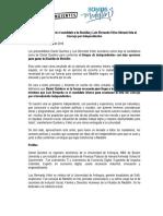 Alianza Daniel Quintero y Luis Bernando Vélez