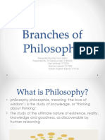 Branches of Philosophy Final Ppt