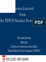 TEPCO Nuclear Power Scandal
