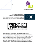 Project Re-Direct Press Release