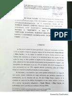Solicitud Indagatorias Carrió y Oliveto