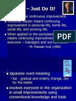 Lecture 15 Kaizen
