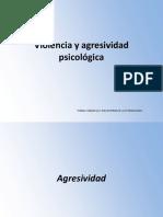 Agresividad y violencia psicológica
