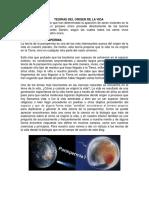 TEORIA DEL ORIGEN DE LA VIDA.docx