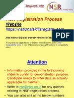 NSR Registration