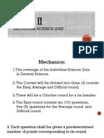 GRADE II - individual science quiz.pptx