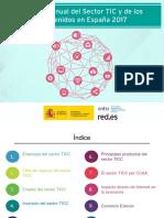 Sector TIC y de los Contenidos 2017 PPT