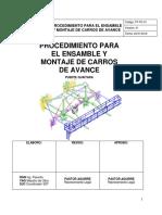 Pt-pc-01 Procedimiento Ensamble y Montaje Carros de Avance (1)
