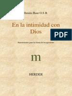 En la intimidad con Dios - Benito Baur O.S.B_.pdf