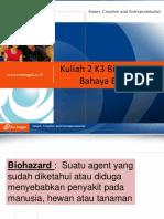 Kuliah 2. Bahaya Biologi
