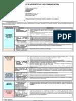 UNIDAD DE APRENDIZAJE  Nº 2 COMUNICACION - 3ero - ultimo.docx