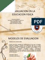 La Evaluacion en La Educacion Fisica 1