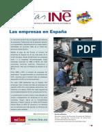 Las Empresas en España(INE)