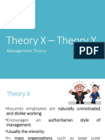 Theory X and Theory Y