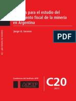 Apuntes para el estudio del tratamiento fiscal de la minería en Argentina