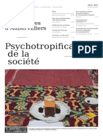 Psychotropification de la société2016-17