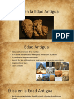 Etica en La Edad Antigua