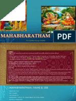 Mahabharatha sess1