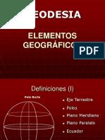 Elementos Gegraficos,Coordenadas Cartesia