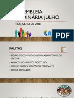 2018-07-04 - Assembleia Ordinária Julho