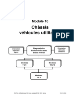 Châssis véhicules utilitaires