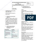Ficha Tecnica Deterg en Polvo Ultrex