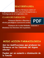 II.- Dr. Lujan Clase Farmacodinamia