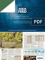 Seaweeds as Ingredients in Aquatic Feeds