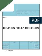 Sst-p-021- Revision Por La Direccion