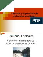 1.1 Explotacion y Estudio de Ambientes Acuaticos