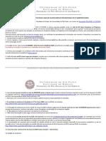 2019 Edital Abertura Processo Seletivo Alunos Especiais