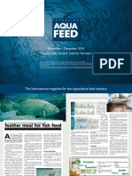 Feather meal for fish feed