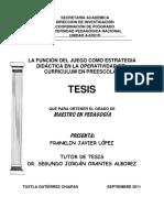 TESIS SOBRE EL JUEGO EN PREESCOLAR COMO ESTRATEGIA.pdf
