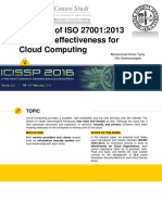 ISO 27001 Analysis ISO Cloud Computing